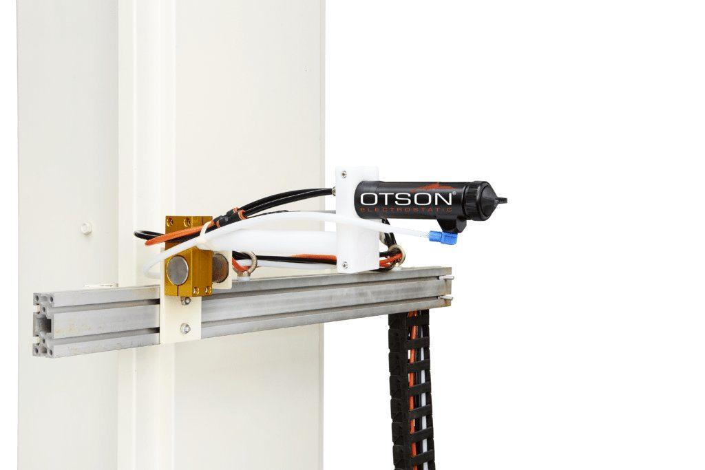 Ots 8000 auto electrostatic spray gun otson liquid for Best automotive paint gun