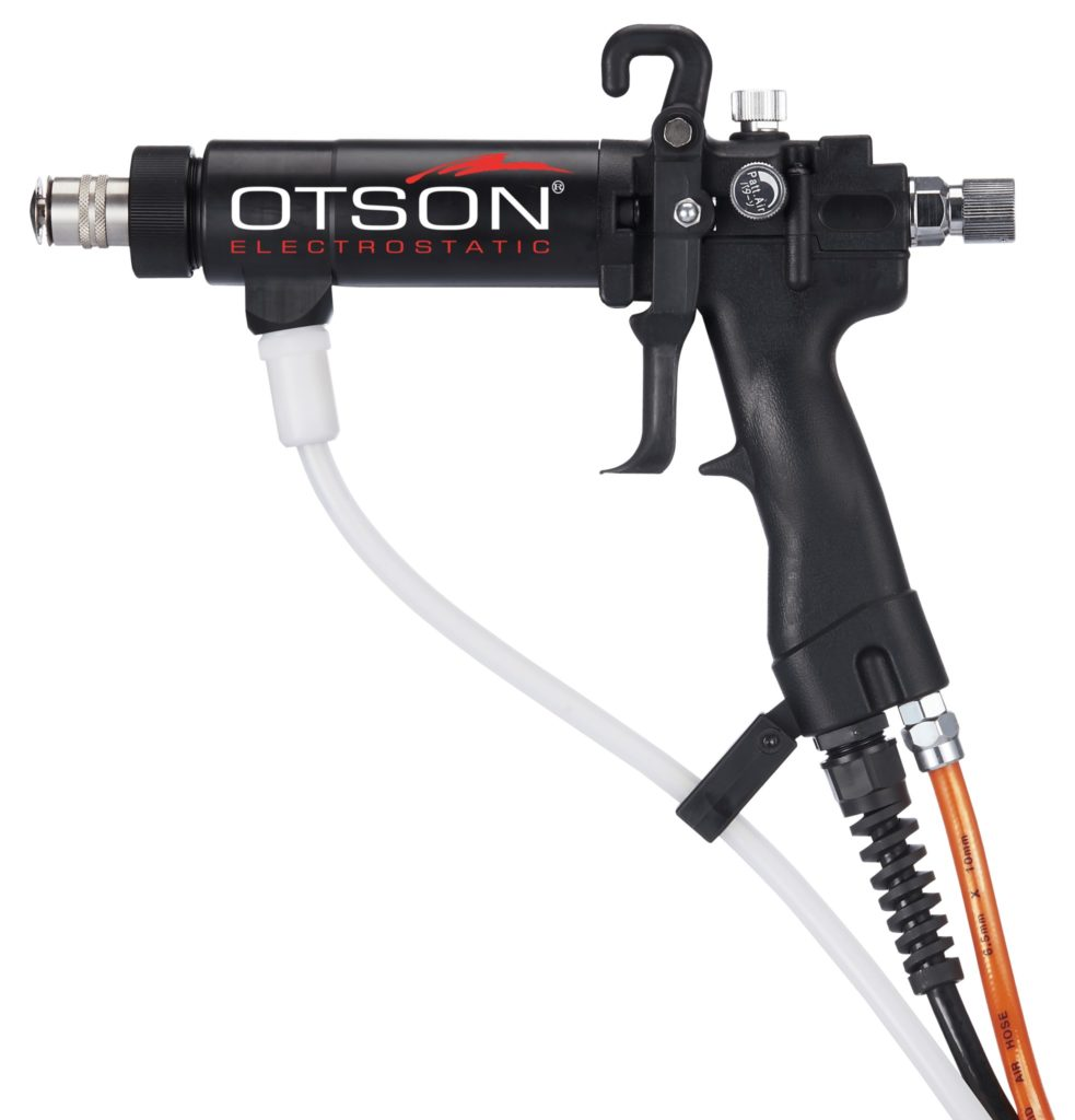 OTS 3000 Plus Manual liquid electrostatic spray gun - Tin Nozzles-G2