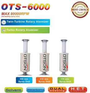 Turbo Twin Turbine Rotary Atomizer