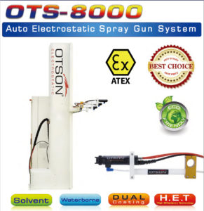 Auto Electrostatic Spray Gun System
