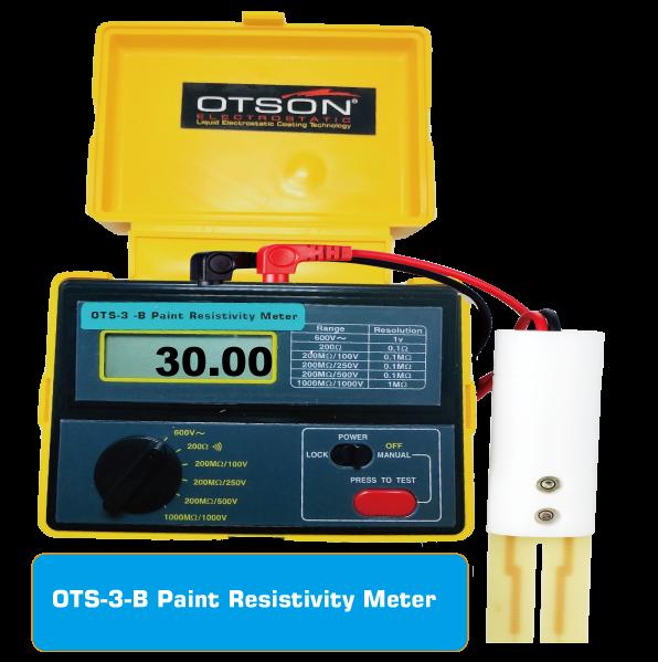 Paint Resistivity Meter