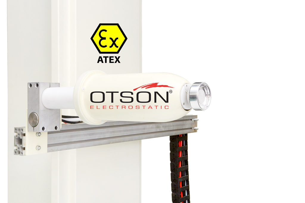 OTSON Auto Electrostatic Spray Bell System 3