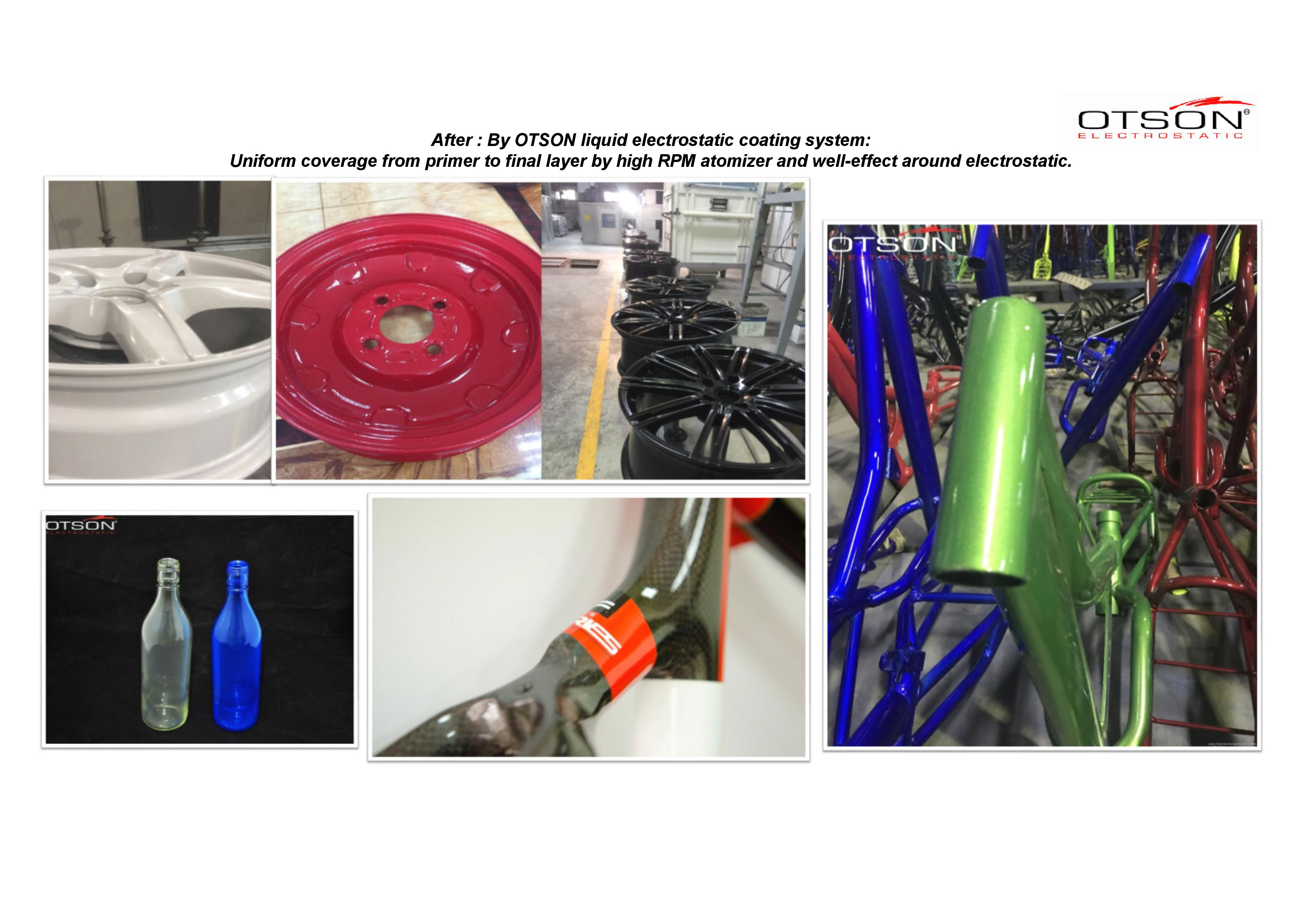 Electrostatic spray