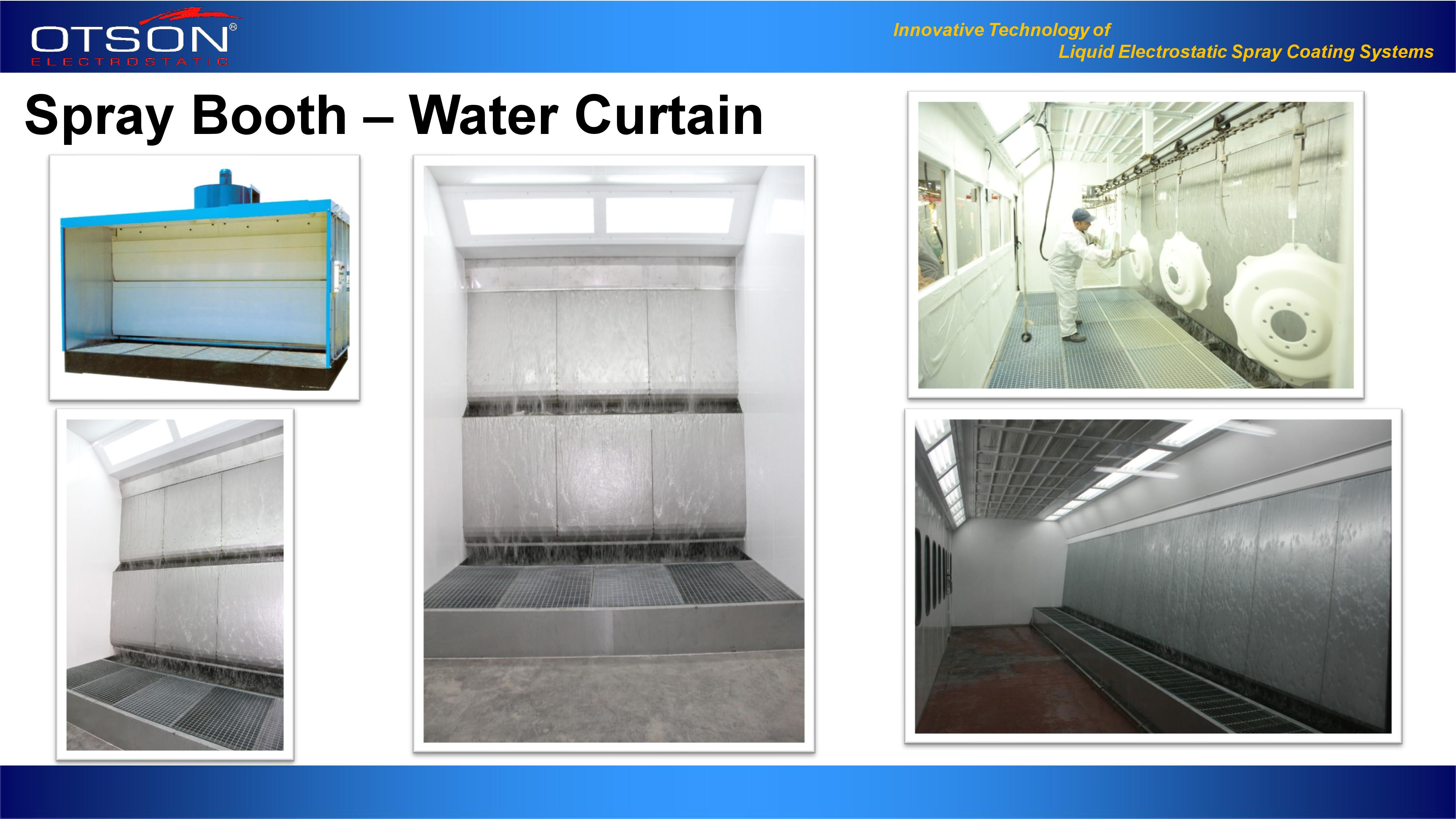 Spray Booth - Water Curtin