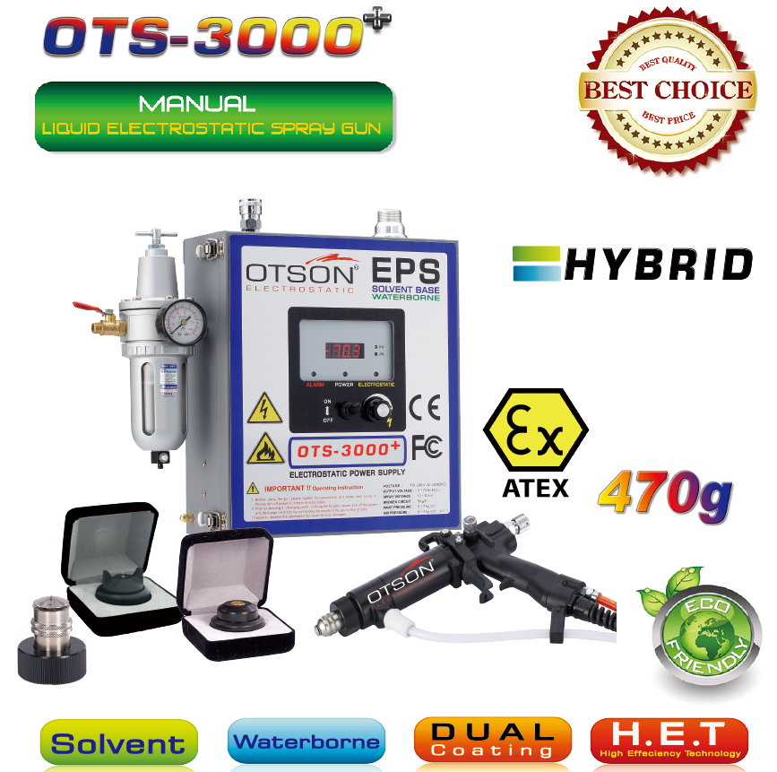 OTS-3000 +Electrostatic Spray Gun