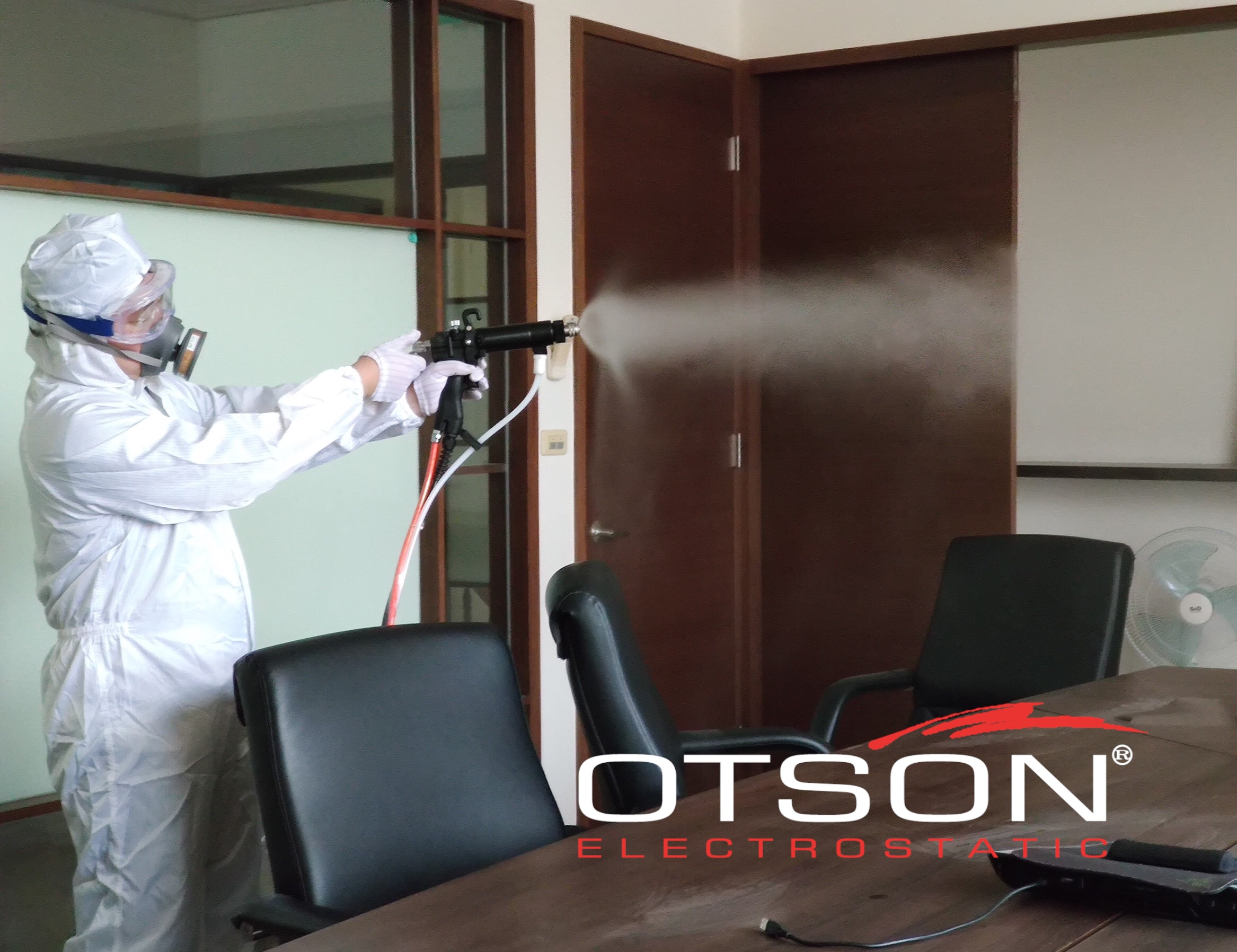 disinfection-electrostatic spray gun